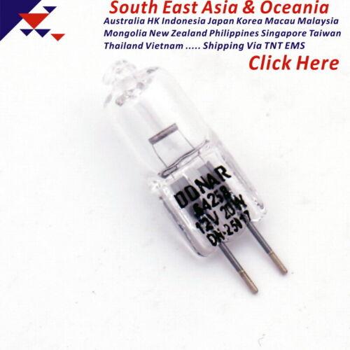 UV spectrophotometer instrument accessories halogen tungsten bulb 64258-C G4