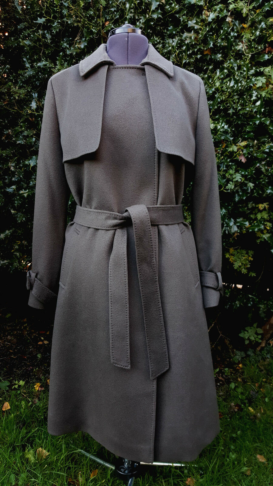 BNWT Jaeger Lgold Piana 100% Pure Cashmere Deconstructed Trench ()  RRP