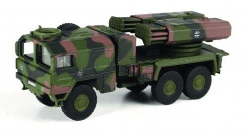 1//87 Schuco MAN Truck Raketenwerfer Lars II Bundeswehr 45 263 6300