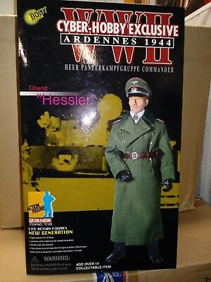 1//6 OR 12 INCHES DRAGON WW2 GERMAN OBERST HESSLER CYBER-HOBBY 70165