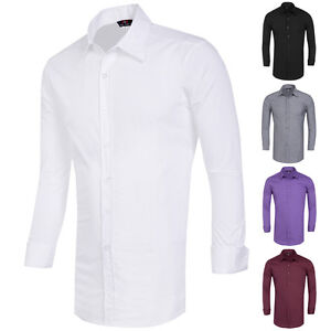 Xs Xl Cheap Designer Mens Long Sleeve Slim Fit Tops Casual
