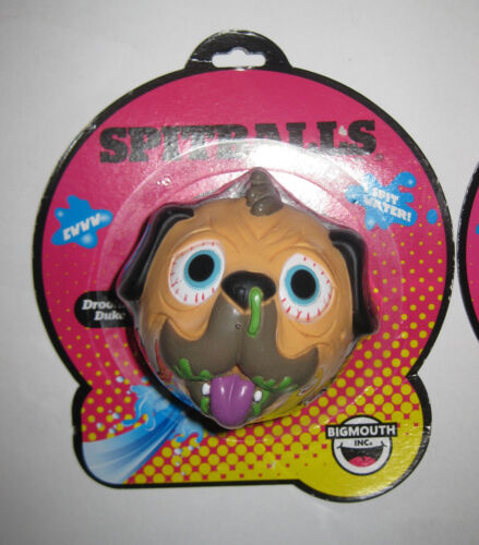 3x MOC Spitballs Water Squirters COMPLETE SET Gross-Out Pug Dog Cat Pig Madballs