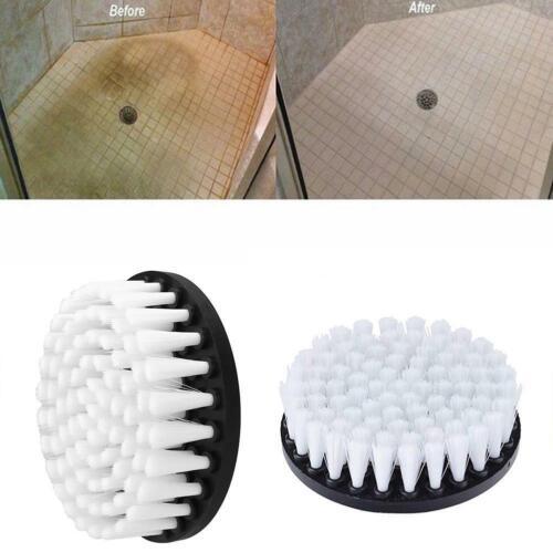 Weiße Bohrmaschine Bürstenaufsatz zur Reinigung von Teppich Leder Ppholster God