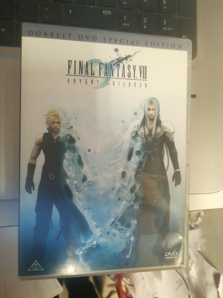 Final Fantasy. VII, DVD, science fiction