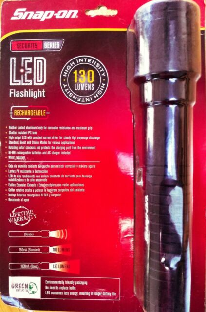 Lithium Xenon ECFB700 Blue-Point Flashlight by Snap-On Water//Shock Resistant