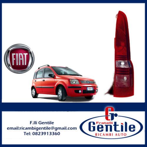 FIAT PANDA DAL 2003 FANALE STOP POSTERIORE DESTRO CORPO IN PLASTICA NERO