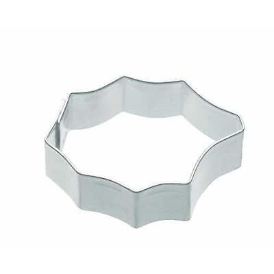 Kitchen Craft 4cm Christmas Small Holly Biscuit, Pastry, Cookie Cutter