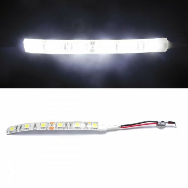 12v 30cm Long Single Colour Flexible Led 5050 Smd Lights Ip65 Waterproof Cw - Uk 100% Origineel