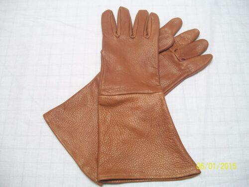 MEN/'S Peanut Brown Médiéval Renaissance Gant Gants-Made in USA