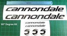 Cannondale Bike Decal Sticker Set of 7 Hard to Find 60 Degree Slanted Cycling