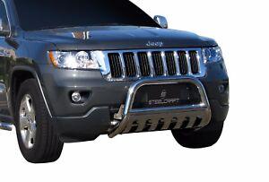 Steelcraft 2011 2019 Jeep Grand Cherokee Stainless Bull Bar Bumper