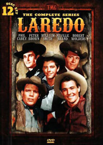 Laredo-The-Complete-Series-12-Disc-DVD-NEW