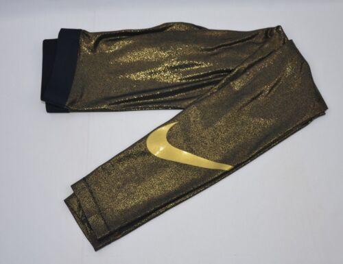 met Gold damesmaat S trainingslegging nieuw Pro xl Nike 013 Aq4412 fit labels Dri 1z4qI