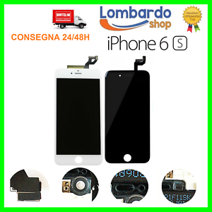 LCD-PER-APPLE-IPHONE-6S-NERO-BIANCO-DISPLAY-ORIGINALE-TIANMA-TOUCH-SCREEN-FRAME