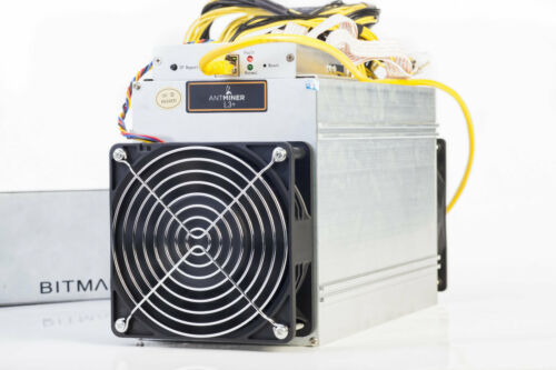 Bitmain AntMiner L3 TRIAL PACK 504 MH//s 6 HOUR RENTAL Scrypt Crypto Mining