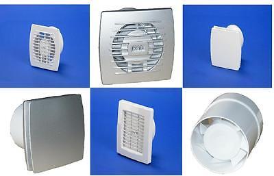 Wand-Ventilator Wandlüfter  100 mm  Lüfter Badlüfter T100 Ø Weiß