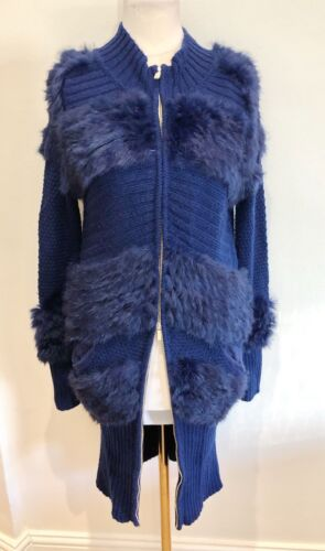 Williamson Long Mathew Knited Cashmere Fur Cardigan With vSwPxn