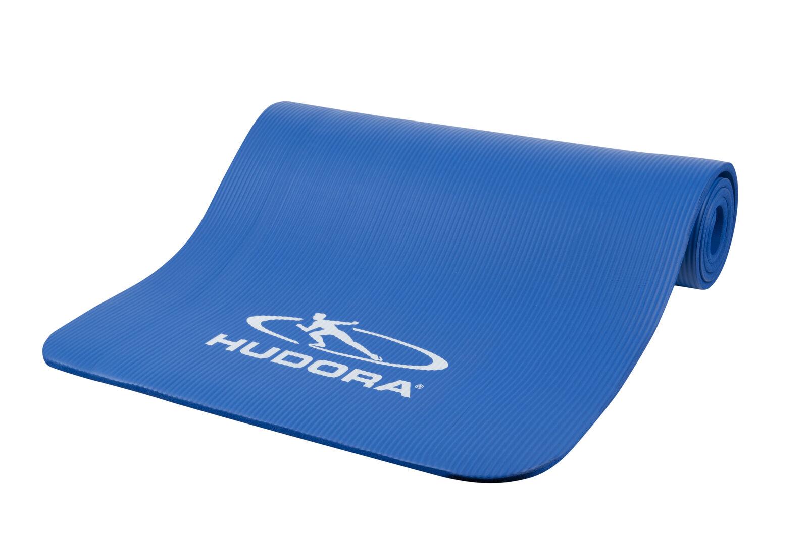 Hudora Fitnessmatte   180x60x1cm   blau   Yogamatte Sportmatte Turnmatte    Economy