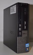 Dell OptiPlex 7010 USFF Intel i3-3220 3.3 GHz 250 GB de disco duro 4GB DDR3 Win 7 Wifi