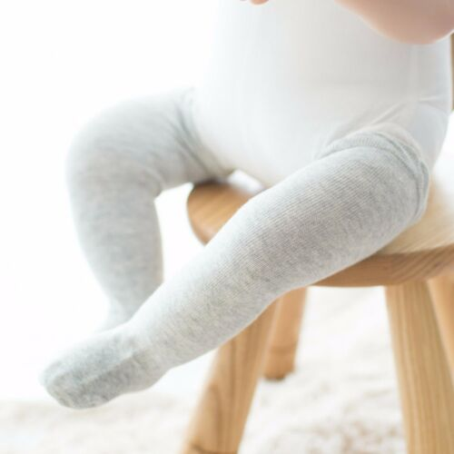 Girl Kid baby knees Calf High Cotton blend leg long Socks Tights 0-24months C117