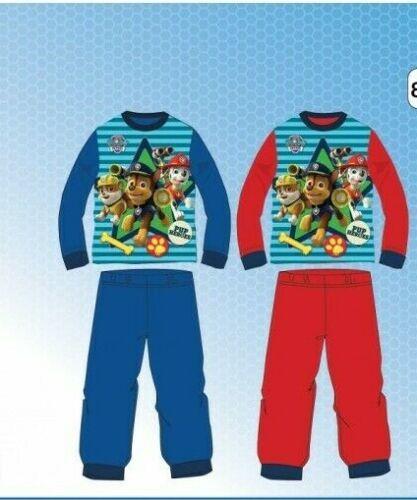 Paw Patrol Pyjama Schlafanzug langarm Kinder Disney 92-116