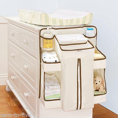 BRAND NEW - Munchkin Nappy Change Organiser -Attaches to dresser Crib Door Wall