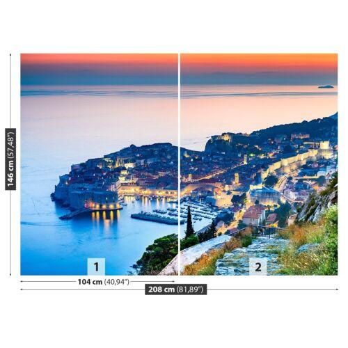 Tulup Fototapete Selbstklebend Einfach ablösbar Mehrfach klebbar Dubrovnik Kroa
