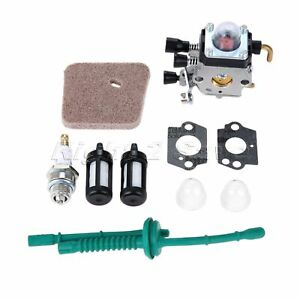 Details about Garden Trimmer Carburetor Carb Kit For STIHL FS38 FS45 FS46  FS55 4140 120 0619