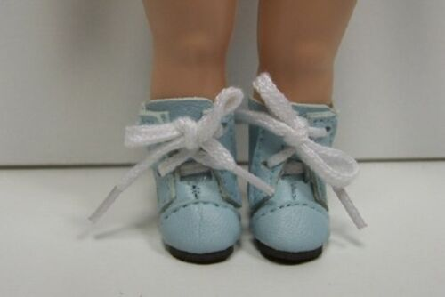 LT BLUE LaceUp lace Up Boots Doll Shoes For 8 Vogue Modern Ginny (Debs)