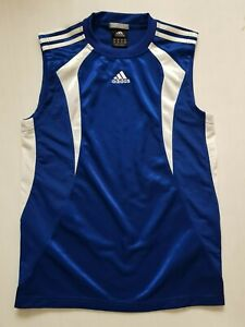 Details about Adidas Clima365 Men's Sleevless T shirt Blue New No Tags Size 2XS