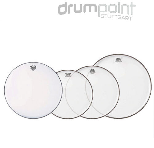 Remo Propack Fellsatz 10  12  14  Emperor clear 14 Ambassador coated Drumheads