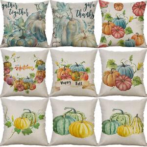18-034-Pumpkin-Print-Cotton-Linen-Sofa-Cushion-Cover-Pillow-Case-Home-Decor