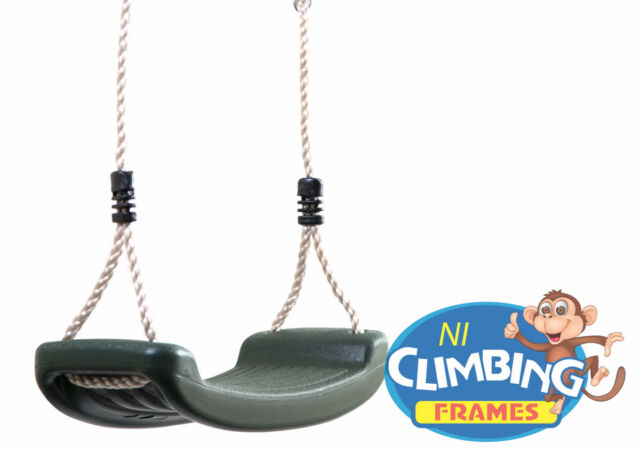 Children's swing seat with height adjustable ropes climbing frame OVER 2500 SOLD