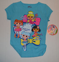Lalaloopsy Girls Top Size L 6x Blue