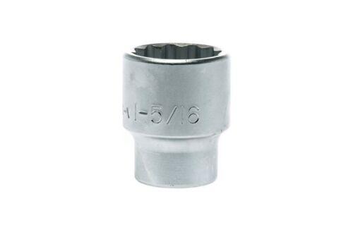 "Regular 1-5//16/"" Socket Teng Tools M340142-C3//4/"" Drive 12 Point"