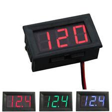 New Ac 70 500v Two Wire Led Digital Voltmeter Panel Display Voltage Tester
