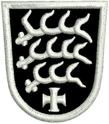 Wappen Von Sindelfingen Aufnäher, Aufbügler, Gestickt ,langlebig.