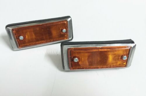 1970-77 TOYOTA CELICA TA 20 TA22 TA23 RA21 RA23 FENDER LAMP ORANGE L R