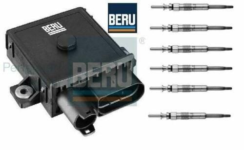 Bougie de Préchauffage Unité De Contrôle Relais Module /& bougies de préchauffage BMW E65 E66 730d BERU