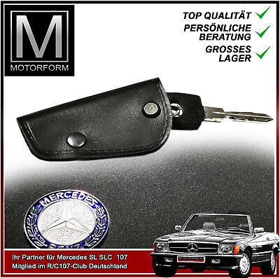 Leder Schlüsseltasche Mercedes SL 107 W107 Schlüsselmäppchen Anhänger Etui NEU