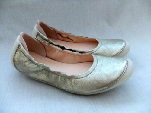para 7 zapatos Jazz Champagne Clarks talla cuero Joely de mujer 41 Nuevo qtYnvg