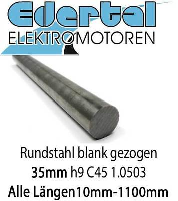 Rundstahl C45 1.0503 blank gezogen h9 C//SH Durchmesser /Ø 50mm x 500mm