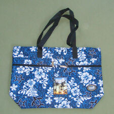 Hot Pink Hawaii Spirit Hawaiian Print Travel Shopping Eco Handbag Tote Purse H05