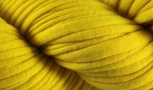 Sunshine Yellow Recycled T-Shirt Yarn