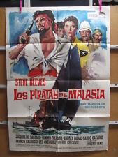 3222      LOS PIRATAS DE MALASIA STEVE REEVES EMILIO SALGARI