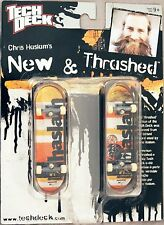 Chris Haslam TECH DECK New & Thrashed 96mm Fingerboard ALMOST Skateboards - NEW!