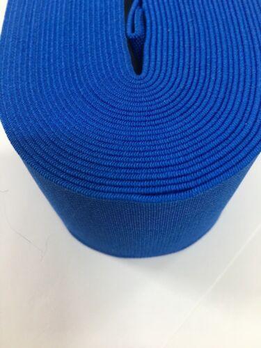 Plate Élastique 25 couleurs Craft Sewing Tissé 30 mm//3 Cm Large Tissé élastique