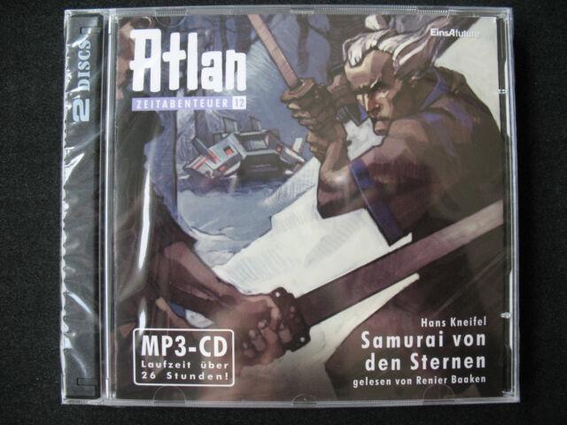 ATLAN ZEITABENTEUER Nr. 12 – SAMURAI VON DEN STERNEN, MP 3- CDs, Neu OVP