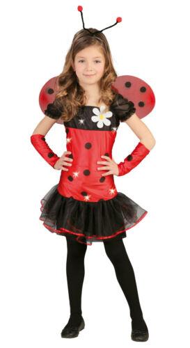 Gr.140 146 152 Halloween Karneval Kostüm Kinder Mädchen Marienkäfer 10 bis 12 J