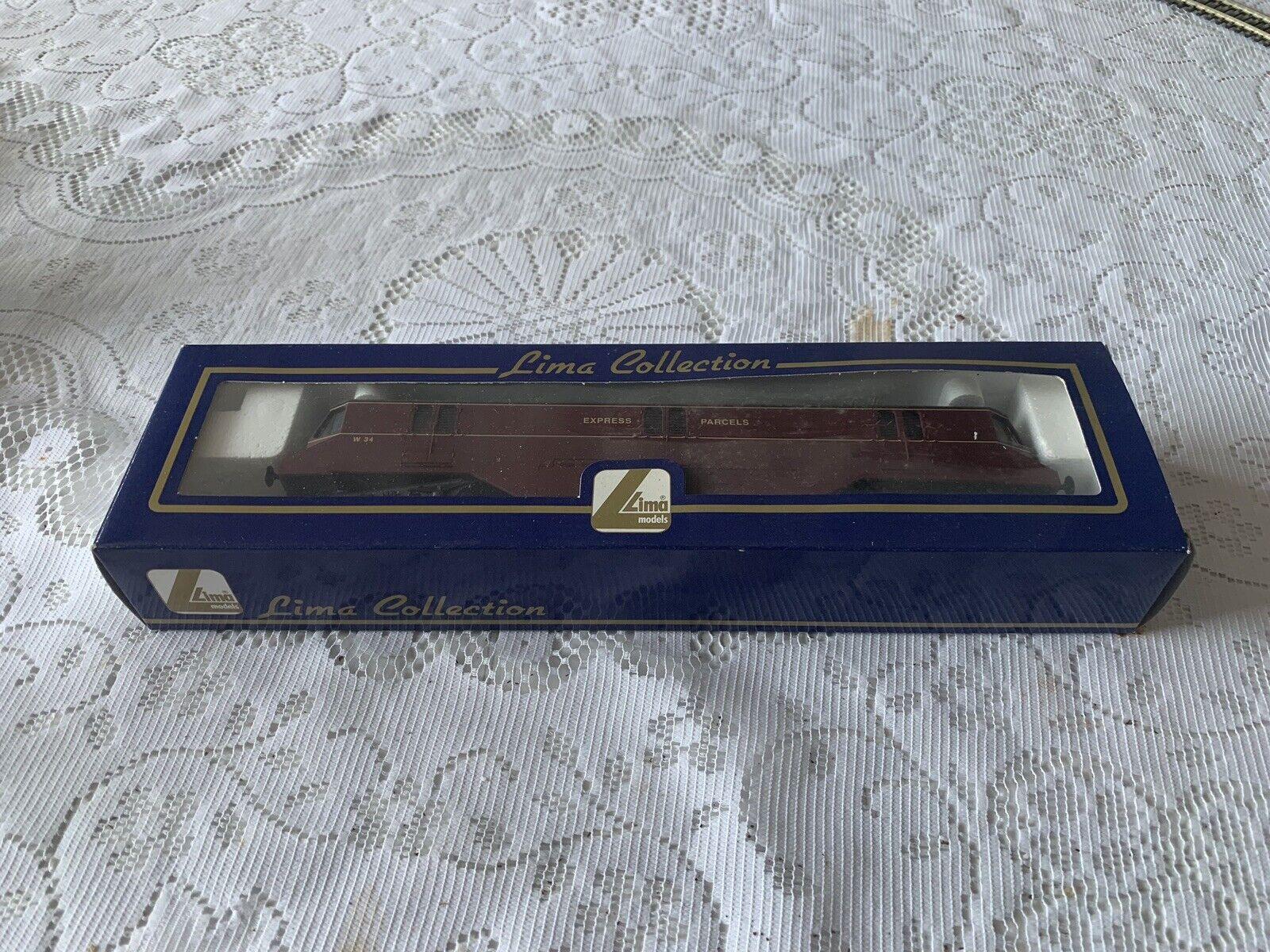 Lima L204913 GWR Railcar r n W34 BRc maroon in mint boxed cond